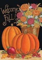 116FM- Welcome Fall Garden Flag