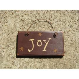 1004J - Joy mini wood sign