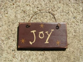 1004J - Joy mini wood sign