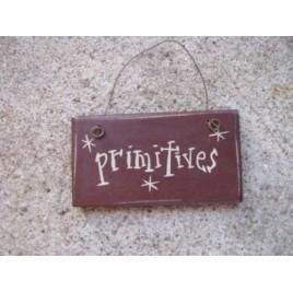 1008P - Primitives mini wood sign