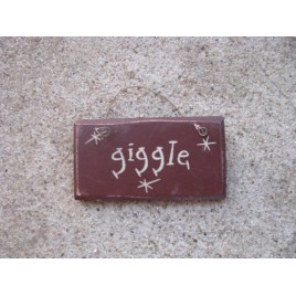1009G - Giggle mini wood sign