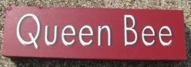 Wood Block 10609F - Queen Bee