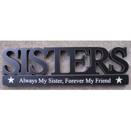 11146E - Sisters Tabletop Cutout