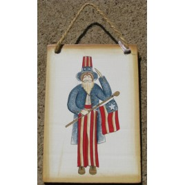 1123 - Uncle Sam wood sign