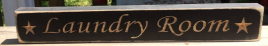 Primitive Wood Engraved  Sign 12LRB Laundry Room