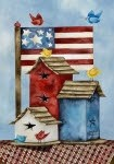 Freedom Birdhouses House Flag HFB1328