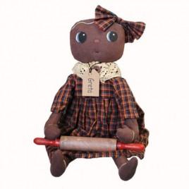 Primitive Doll 2479GB- Gingerbread Greta Doll