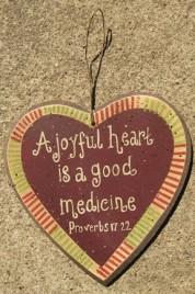 27449AJH - A Joyful Heart is a Good Medicine