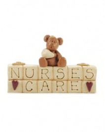 27563-Nurses Care Resin Block