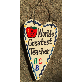 Teacher Gifts 3012  Worlds Greatest Teacher