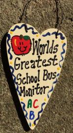 Teacher Gifts 3020 Worlds Greatest School Bus Monitor