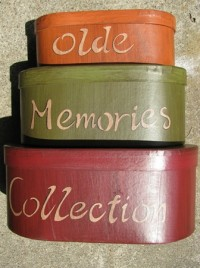 30225E-Old Memories Collections set of the 3 boxes