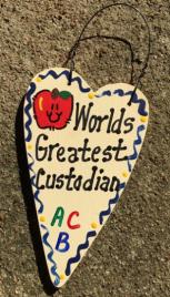 Teacher Gifts 3024  Worlds Greatest Custodian