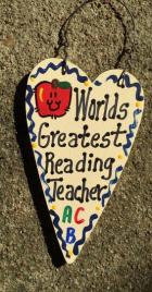 Reading Teacher Gifts 3025  Worlds Greatest Reading Teacher