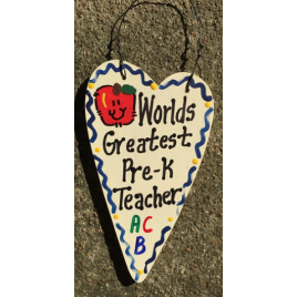Pre-K Teacher Gifts 3032 Worlds Greatest Pre-K Teacher