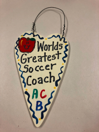 Soccer Coach Teacher Gifts 3039 Worlds Greatest  Soccer Coach