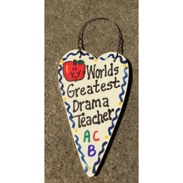 Teacher Gifts 3042  Worlds Greatest Drama Teacher