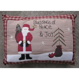 Christmas Decor  31146S - Blessings of Peace & Joy Pillow