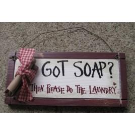 32203GS - Got Soap? Then please do the Laundry