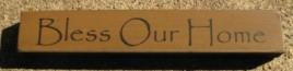 32320BG-Bless Our Home MINI wood block