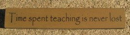 32322TG-Time Spent Teaching is never lost