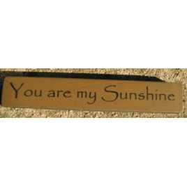32325YG You Are My Sunshine mini wood block