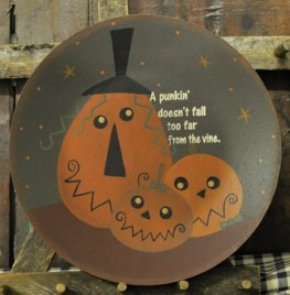 Primitive Fall Plate 32393-Kooky Jacks