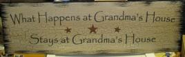 36903GMW- What happens at Grandma's House Says at Grandma's House