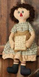 3D3313-A True Friend Rag Doll