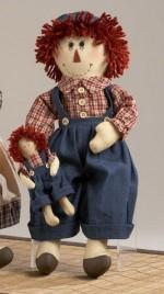 40882 - Raggedy Boy with Doll