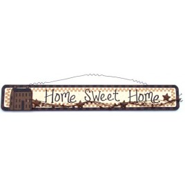 45378HSH-  Primitive Home Sweet Home wood sign