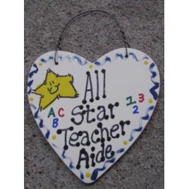 Teacher Gifts 5010 All Star Teacher Aide Heart