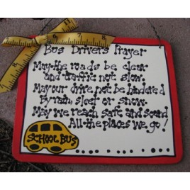 School Bus Driver Gifts  5104BD School Bus Driver's  Prayer