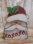 5727 Santa Ho Ho Ho Wood Block