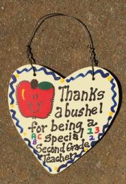 Teacher Gift  6003 Thanks a Bushel Special Second Grade Teacher
