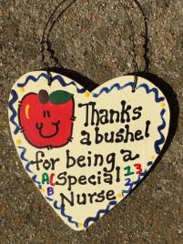 Teacher Gift  6011 Thanks a Bushel Special Nurse