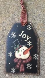 6085J - Joy Wood Tag