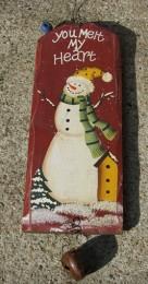 66058YMMH - You Melt My Heart Snowman Sign