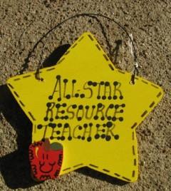 Teacher Gifts Yellow 7022 All Star Resource Teacher