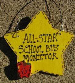 7028 All Star School Bus Monitor