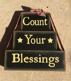 72097BLK - Count Your Blessings Block