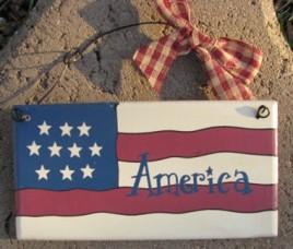 79315A - America wood sign