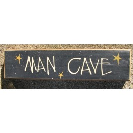 82210M - Man Cave wood block