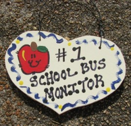 School Bus Monitor Gifts Number One 815 School Bus Monitor