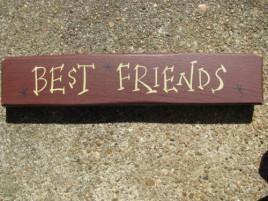 M9002BF - Best Friends Wood block