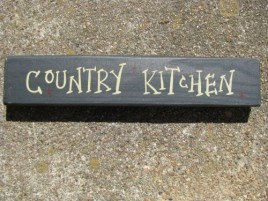 M9004CK- Country Kitchen Wood Block