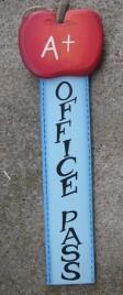 92447OP- Office Wood Pass