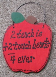 Teacher Gifts 2 Teach is 2 Touch hearts 4 ever