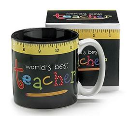 9727571NB World's best Teacher ceramic mug