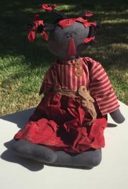 E14440 Macey Primitive Doll